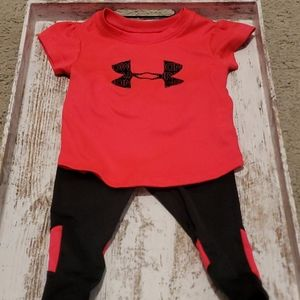 Under Armour Baby Girls Matching Set